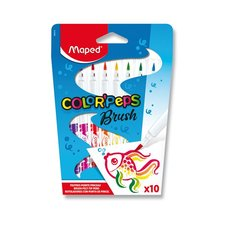 Fixy Maped Color?Peps Brush - 10 barev