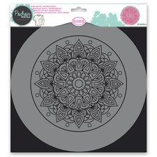 Aladine Plastová šablona - Mandala - 28 x 28 cm
