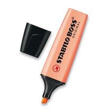 Stabilo Zvýrazňovač Boss Original Pastel oranžový