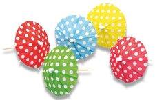 Deštníčky - průměr 10 cm