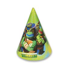 Amscan Kloboučky Želvy Ninja - 6 ks