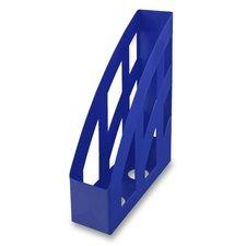 Stojan na katalogy Helit Economy - modrý