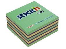 Samolepicí bloček Hopax Cube Notes - zelený