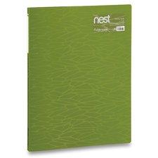 FolderMate Katalogová kniha Nest - A4, 20 folií, olivově zelená