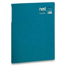 FolderMate Katalogová kniha Nest - A4, 20 folií, modrá