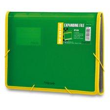 FolderMate Aktovka na dokumenty Pop Gear Plus - A4, zelená