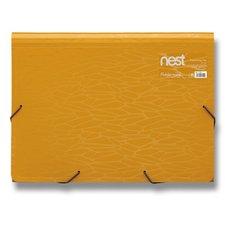 FolderMate Aktovka na spisy Nest - 330 x 240 x 35 mm, zlatožlutá