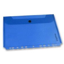 Foldermate Pop Gear - zakládací spisovka s drukem - modrá