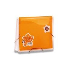 Aktovka na dokumenty Poly Rock - A5, oranžová