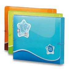 Box na dokumenty Poly Rock - A4, oranžový