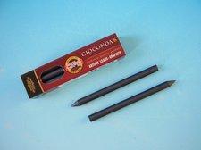 Tuhy 4B průměr 5,6 mm grafitové 80 mm délka