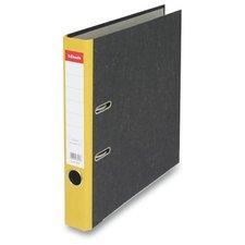 Pákový pořadač Esselte Mramor 50mm  žlutý