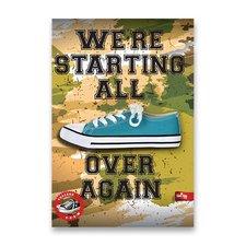 Záznamní kniha Premium Sneakers - A4, linkovaná, 96 listů, mix motivů