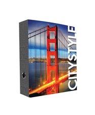 Karton P+P Pořadač A4 páka 7cm lamino Golden Gate