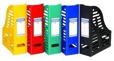 Box odkládací plastový - červený