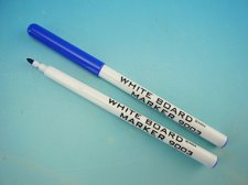 Popisovač white board modrý
