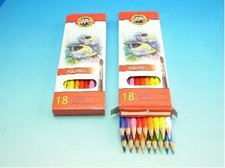 Pastelky akvarelové RYBY 3717/18