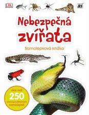 Nebezpečná zvířata Samolepková knížka