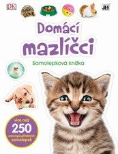 Domácí mazlíčci Samolepková knížka
