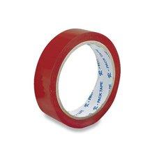 Barevná samolepicí páska Reas Pack - červená, 24 mm x 66 m