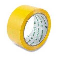 Barevná samolepicí páska Reas Pack - žlutá, 48 mm x 66 m