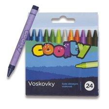 Voskovky Coolty - 24 barev