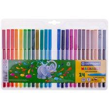 Souprava barevných popisovačů - fixy - 24 ks - 7790/24