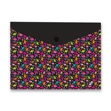Karton P+P Spisové desky Design s drukem - A4, Flamingo