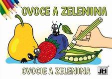 Jiri Models Ovoce a zelenina Omalovánky A5