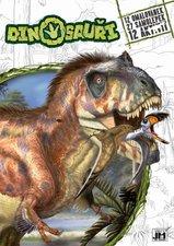 JIRI MODELS Omalovánky se samolepkami Dinosauři
