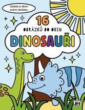 Dinosauři Omalovánky do oken