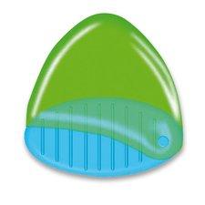 Kores Ořezávátko Snappy - s odpadní nádobou - 1 otvor, mix barev