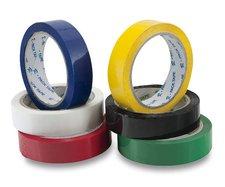 Barevná samolepicí páska Reas Pack - bílá, 24 mm x 66 m