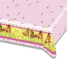 Plastový ubrus Charming Horses - 120×180 cm
