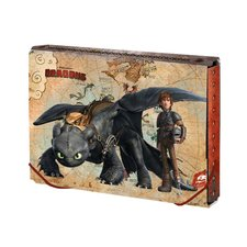 Argus Box na sešity A5 How to train Dragon