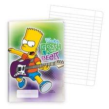 Argus školní sešit A5, 40 listů - linkovaný The Simpsons