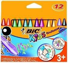 Voskovky BIC Kids Plastidecor Triangle, 12 barev