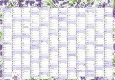 Baloušek Nástěnný roční kalendář (600x420 mm)  Levandule 2022