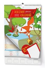Baloušek Nástěnný kalendář A3  Rodinný plánovací 2022