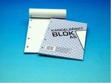 Blok čistý A5 4-kroužkový