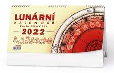 Baloušek Stolní kalendář  Lunární kalendář Pavla Skácela 2022