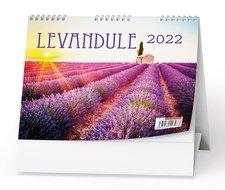 Baloušek Stolní kalendář  Levandule 2022