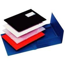 Desky na dokumenty s gumou A4 bílé, pevný plast