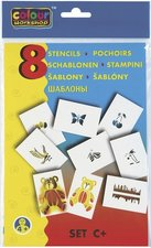 Centropen Šablony 9998 pro foukací fixy set C+