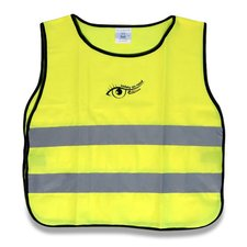 Výstražná vesta pro děti - žlutá
