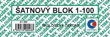 Šatnové bloky 1 - 100 čísel