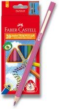 Faber-Castell Grip Colour - kvalitní pastelky 20 barev