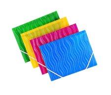 Foldermate Vertical - 3chlopňové polypropylenové desky - modré