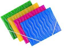 Foldermate Vertical - 3chlopňové polypropylenové desky, žluté
