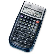 Vědecký kalkulátor Citizen SR-270N - černý